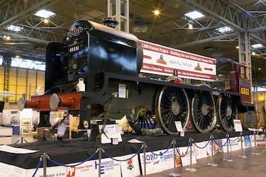 New Patriot Locomotive Build At Llangollen